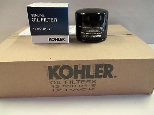 popular KOHLER 12 050 01-S Engine Oil Filter For CH18 - CH25 outlet online sale And CV18 - CV25- 12 wholesale pack sale