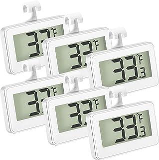 Thermomètre de Réfrigérateur Thermomètre de Congélateur Numérique Thermomètre de Réfrigérateur de Chambre LCD Thermomètre ...