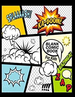 Blank Comic Book For Kids : Create Your Own Comics With This Comic Book Journal Notebook:..