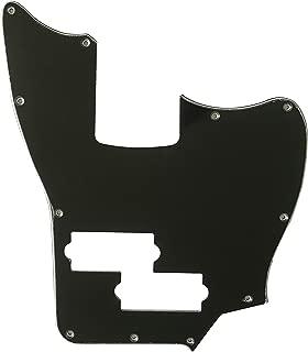 For Squier Vintage Modified Jaguar Bass SS Guitar Pickguard (3 Ply Black)