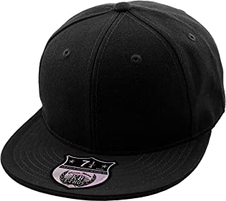 The Real Original Fitted Flat-Bill Hats True-Fit, 9 Sizes & 20 Colors