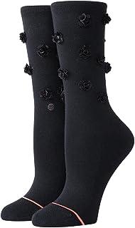 Stance Floral Dimension Crew Socks - Black - Medium