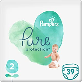 Pampers Pure Protection Diapers, Size 2, 39 Count