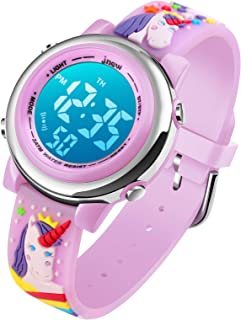Sponsored Ad - Kids Digital Sport Waterproof Watch for Girls Boys, Kid Sports Outdoor LED Electrical Watches with Luminous...