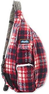 KAVU Plaid Rope Sling Bag Crossbody Backpack