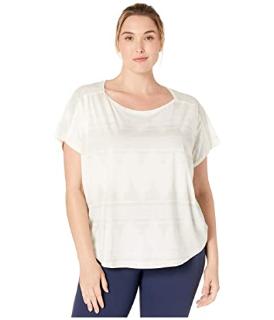 Prana Plus Size Shenay Top (Stone) Women
