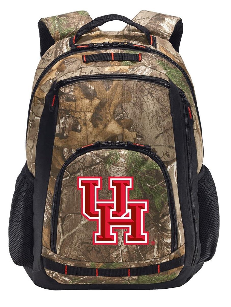 職業気づかない逃げるUh CamoバックパックリアルツリーUniversity of Houstonバックパック?–?セクション。