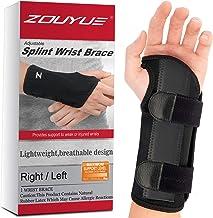 بریس مچ دست تونل کارپال ، پشتیبانی مچ دست از خواب شبانه ، اسپلیت مچ دست فلزی قابل جابجایی برای آقایان ، خانمها ، تاندینیت ، بولینگ ، صدمات ورزشی تسکین درد - درست