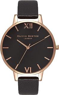 Olivia Burton Womens Quartz Watch, Analog Display and Leather Strap OB15BD66