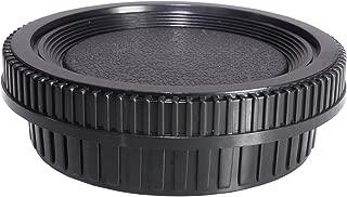 CamDesign Rear Lens Cap & Body Cap Set Compatible with Minolta MD/MC/SR Rokkor Lenses X-700, X570, X-370, XD, XD-7, XD-11 XG, XG-7, SR-T 101, X-1, SR-1, SR-2, SR-7