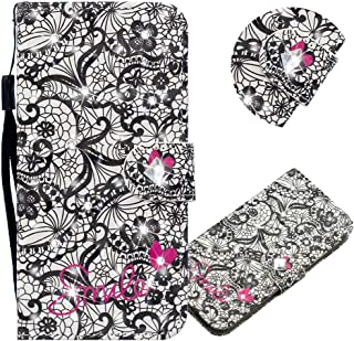 EMAXELER Galaxy A11 Case 3D Creative Pattern PU Leather Wallet Diamond Case Bookstyle Flip Stand Card Holder غطاء واقي مغن...