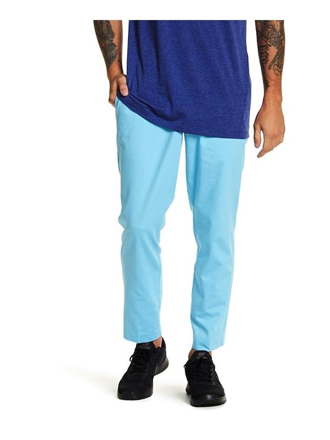 Nike Flex Men's Vivid Sky Blue Golf Pants Size 38 Slim