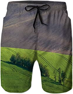 Amzeca Mens Swimwear Running Surfing Sports Beach Shorts Trunks Board Pants