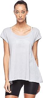BodyTalk Women's Short-Sleeved T-Shirt, Grey (Light Grey), Small
