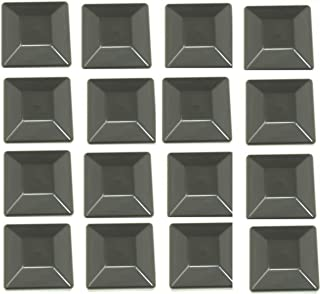 """Best JSP Manufacturing 16 Pack Fence Post Plastic Black Caps 4X4 (3 5/8"""") Pressure Treated Wood Made in USA Reviews"""