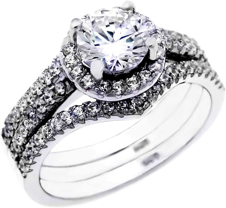 .85 ct Brilliant Round cut Bridal designer piece Price reduction Wedding 2 ring Regular discount