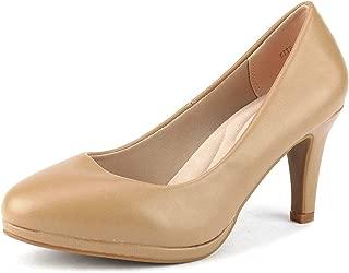DREAM PAIRS City_ct Women's Classic Low Stiletto Heels...