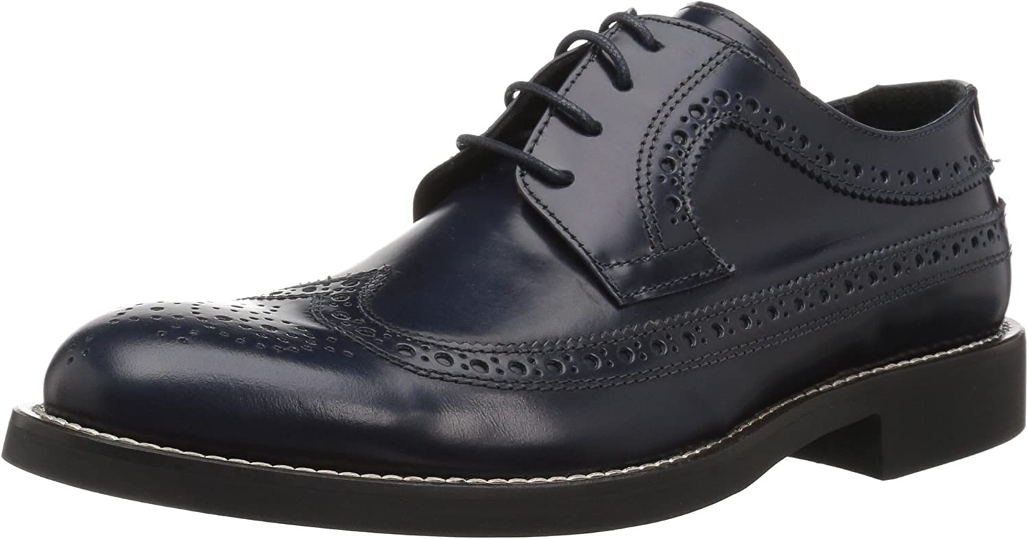 Bugatchi Men's Large-scale sale Lombardy Be super welcome Brogue Oxford