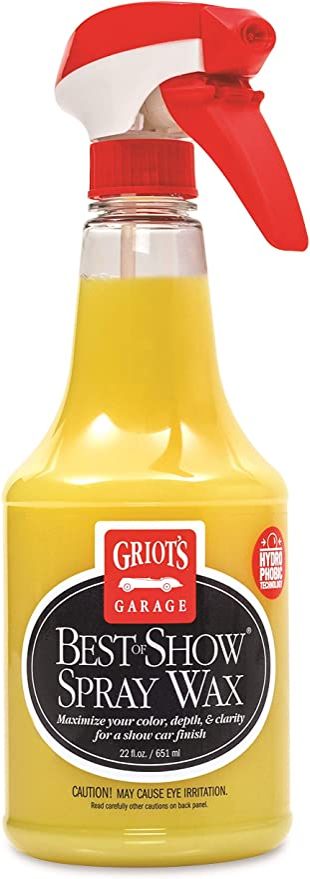 Griot's Garage 10968 Best of Show Spray Wax 22oz: image