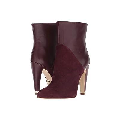 Donna Karan Hadi Ankle Bootie (Ruby Red) Women