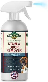 Professional Strength Stain & Odor Remover - Natural Enzyme Cleaner (Bulk 32oz) for Dog & Cat Urine, Waste, Wine, Blood, V...