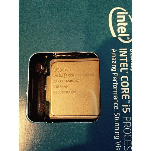 Intel Core i5-4690K Box - Procesador (3.5 GHz, zócalo LGA 1150, Quad-Core)