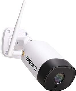 【2019最新版】防犯カメラ 屋外 監視カメラ wifi 500万画素 ネットワークカメラ ipカメラ ワイヤレス 双方向音声 wifi強化 暗視撮影 防水 SV3C