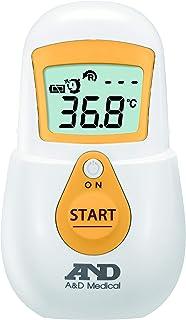 エー・アンド・デイ 非接触体温計 でこピッと イエロー UTR-701A-JC1