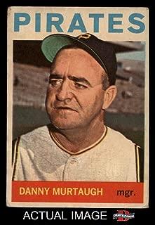 1964 Topps Venezuelan # 141 Danny Murtaugh Pittsburgh Pirates (Baseball Card) Dean's Cards 2 - GOOD Pirates