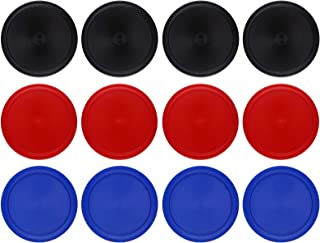 Kasteco 12 Pack 2.5 Inch Air Hockey Pucks for Small Size Table