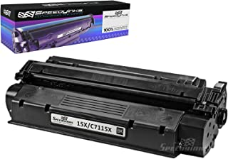 Speedy Inks Compatible Toner Cartridge Replacement for HP 15X / 15A / C7115A High-Yield (Black)