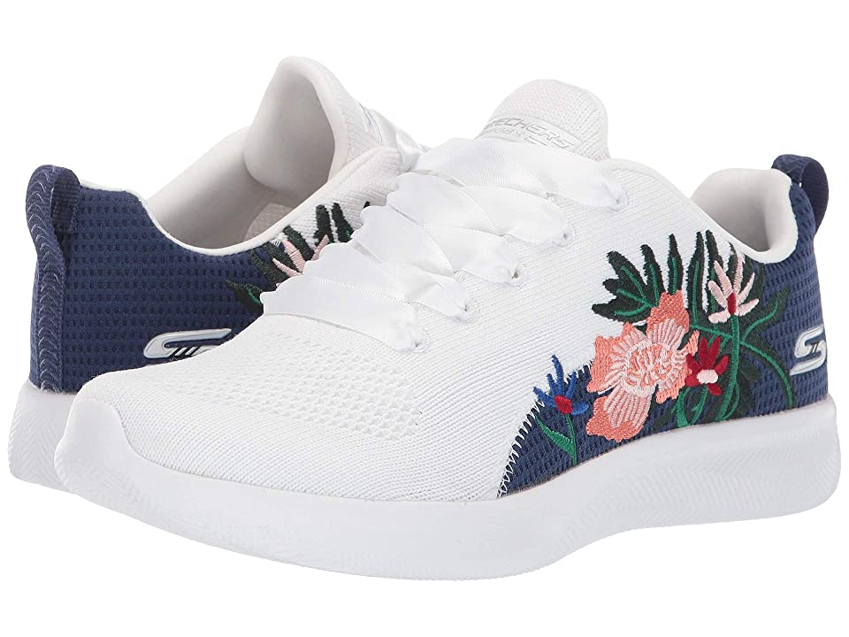 BOBS from SKECHERS Bobs Squad 2 - Only Locals (White Multi) Women's Shoes