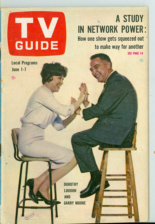 In a popularity Nashville-Davidson Mall 1963 TV Guide Jun 1 Garry Moore 5 - Edition Excellent Arkansas