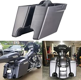 "Hard Saddle Bag 4/"" Extensions For Harley touring  Electra Street Glide 2014-2018"