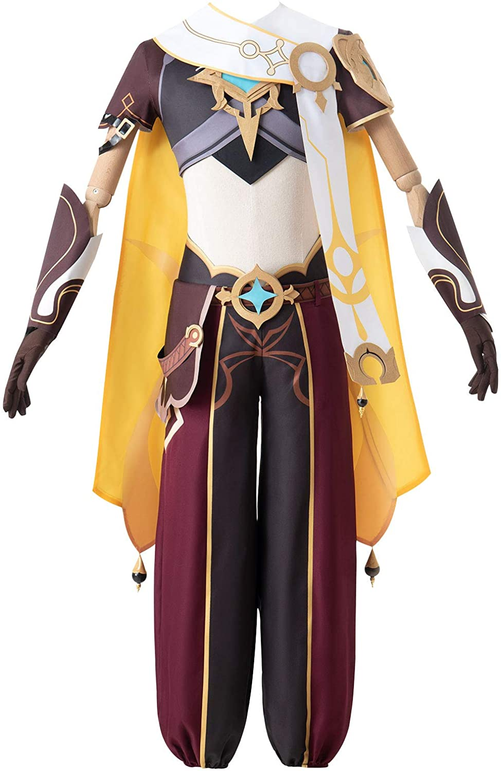 Topics on TV Cosplay Costume Genshin Don't miss the campaign Impact Aether Traveler