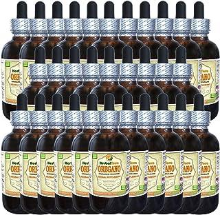 Oregano (Origanum Vulgare) Tincture, Organic Dried Leaves Liquid Extract (Brand Name: HerbalTerra, Proudly Made in USA) 30x2 fl.oz (30x60 ml)