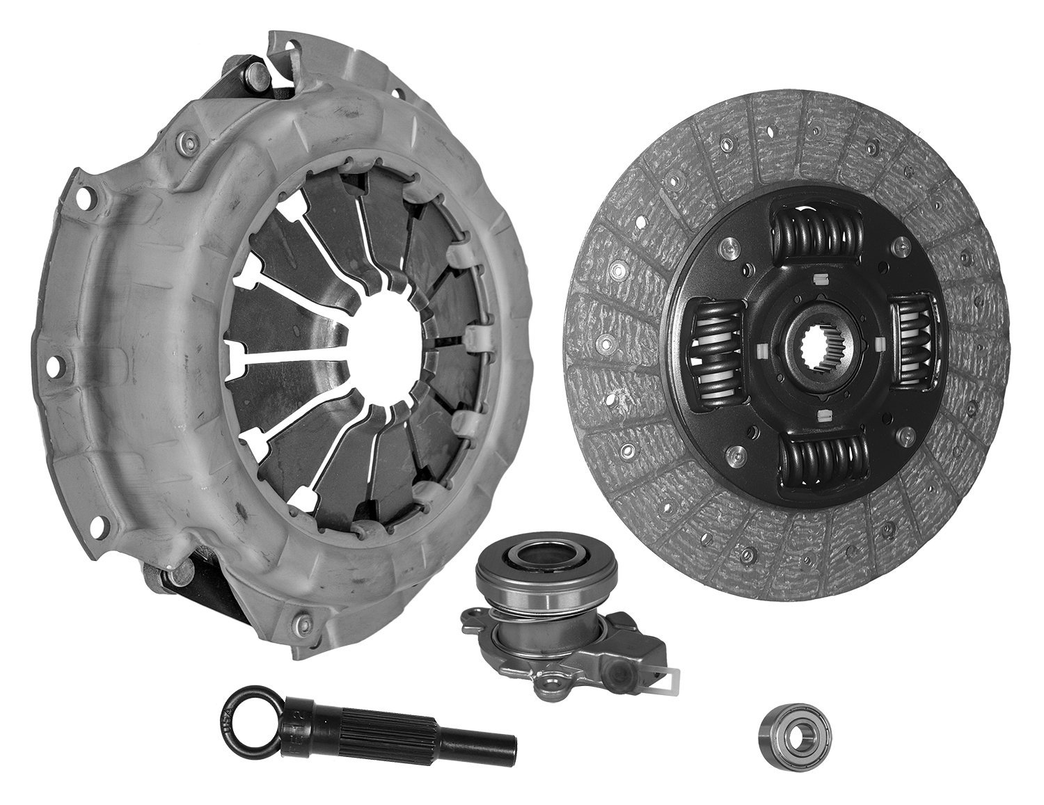 Clutch Kit Works With Mazda Rx-8 Grand Touring Gt R3 Sport 40th Anniversary Edition Base Shinka 2004-2011 1.3L R2 GAS Naturally Aspirated Rotary 13B-Msp 6 Speed; Stage 1