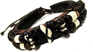 Real Shark Tooth Leather Bracelet -Hawaiian Style -Real Shark Bracelet-Shark Tooth Jewelry