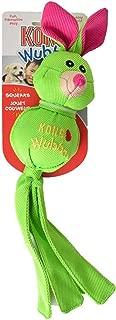 KONG Wubba Ballistic Friends Dog Toy - Green Rabbit - Large