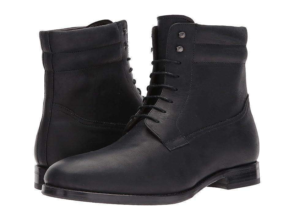 Bacco Bucci Cesc (Black Leather) Men