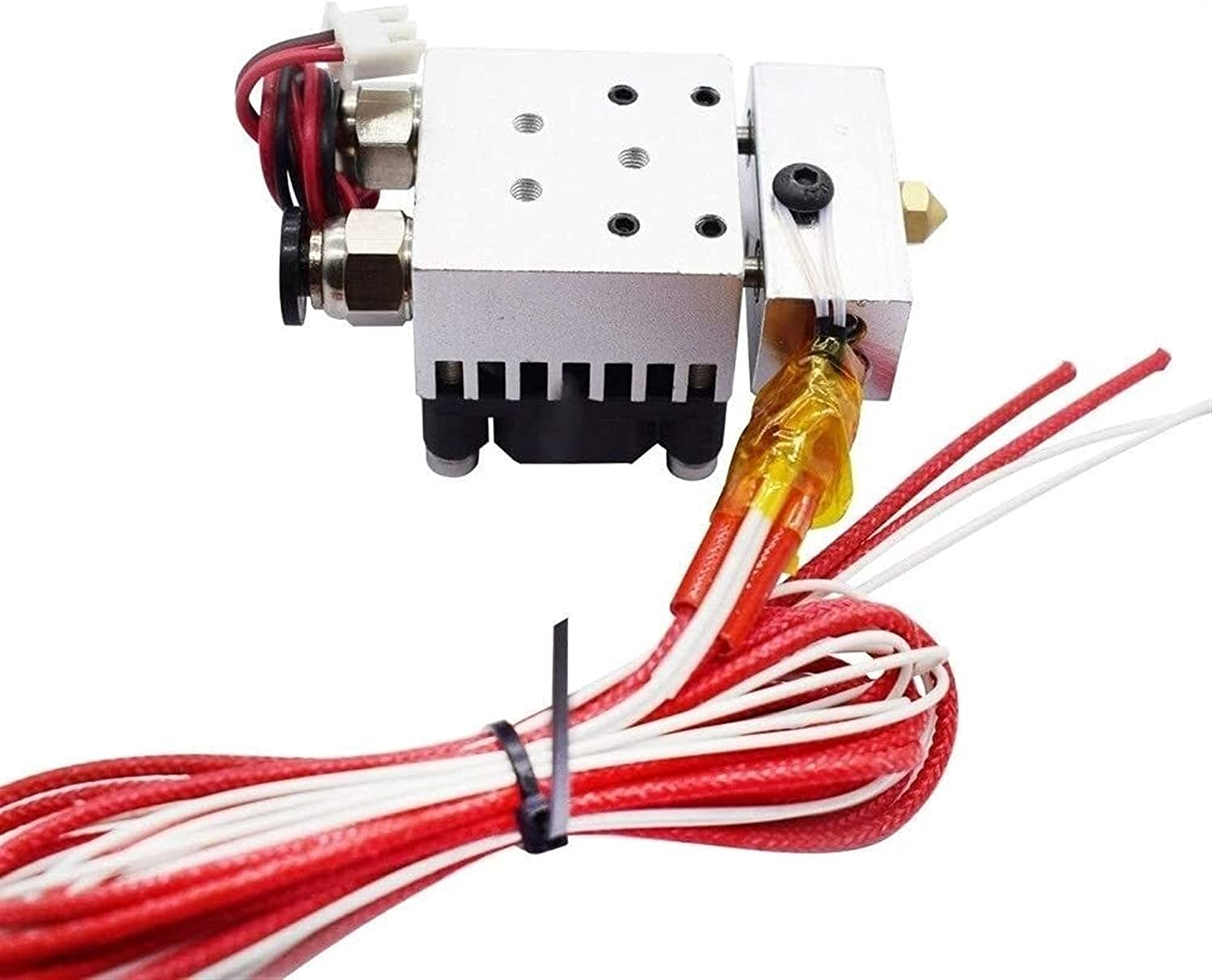 satukeji 3D Free Shipping Cheap Bargain Gift Printer Parts Special price for a limited time Hot End 2 Kit Hotend D Out in J-Head 1