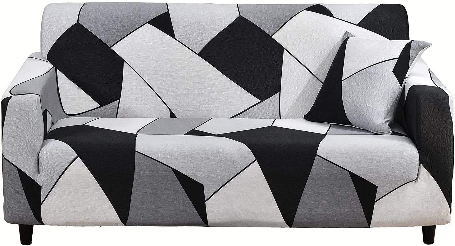 HUOLEO Stretch Sofa Slipcover Printed Price Tampa Mall reduction 1 for Couch Elastic Cover