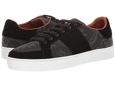 Etro Paisley Tennis Sneaker (Black) Men