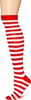 Women's Novelty Striped Knee Socks