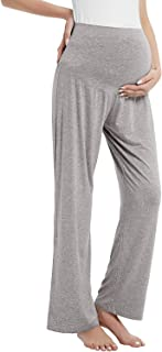 Womens Maternity Over The Belly Sweatpants...