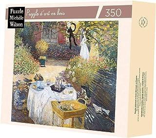 Puzzle d'art en Bois 350 pièces : Le déjeuner, Claude Monet