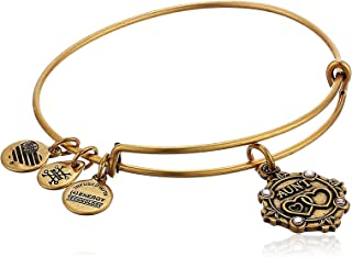 Alex and Ani Womens Because I Love You Aunt III Bangle