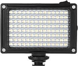Andoer 112 LED Video Light Panel 5500K 3200K CRI85  With Orange Filters for Canon Nikon Sony DSLR Camera Camcorder