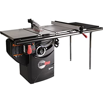 SAWSTOP 10-Inch Professional Cabinet Saw, 3-HP, 36-Inch Professional TGlide Fence System (PCS31230-TGP236)