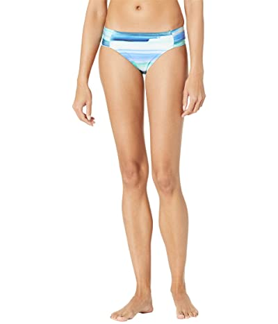 La Blanca Ocean Tides Shirred Hipster (Pacific Blue) Women